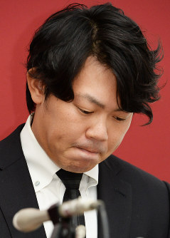 Giants right-hander Shun Yamaguchi (Mainichi)