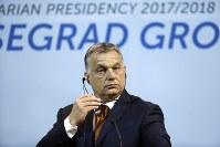 ハンガリーのオルバン首相=7月19日、ロイター