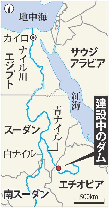 川 ダム ナイル