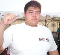 Sumo wrestler Konosuke Naya (Mainichi)