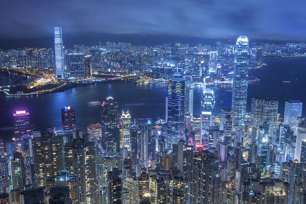 オカダ・ホールディングスの本社と、ユニバーサルエンターテインメントの子会社がある香港