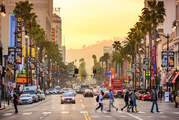 LAの街並み