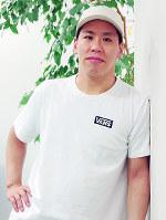 舞台「TOKYO TRIBE」を演出する伊藤今人さん=大阪市北区で、関雄輔撮影