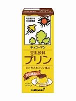 豆乳飲料「プリン」味=キッコーマン飲料提供