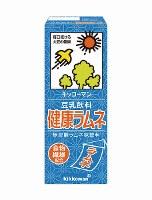 豆乳飲料「健康ラムネ」味=キッコーマン飲料提供