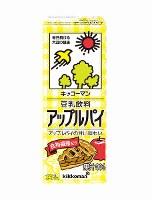 豆乳飲料「アップルパイ」味=キッコーマン飲料提供