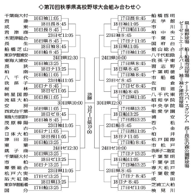 千葉 県 高校 野球