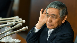 日銀の政策に限界が見えてきた…(黒田東彦・日銀総裁)