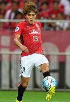 【浦和―川崎】後半、4点目のゴールを決める浦和の高木=埼玉スタジアムで2017年9月13日、宮間俊樹撮影