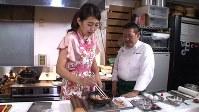 横澤夏子(左)が登場する「サタデープラス」の一場面
