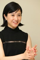 映画「ユリゴコロ」に出演する吉高由里子=大阪市北区で、菅知美撮影