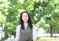 忍足亜希子さん=東京都千代田区で、丸山博撮影