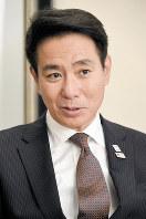 前原誠司氏=東京都千代田区で2017年9月19日、根岸基弘撮影