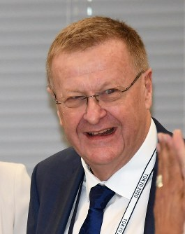 John Coates, chairman of the International Olympic Committee (IOC) Coordination Commission. (Mainichi)
