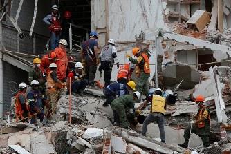 メキシコ地震:死者230人 国を挙...