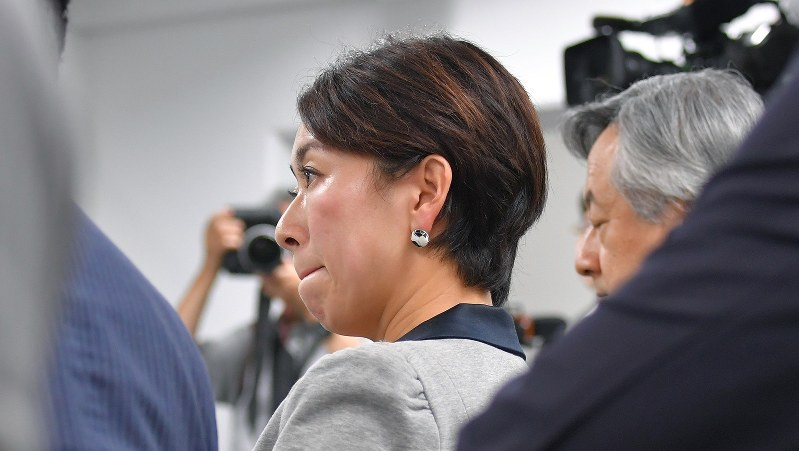 山尾志桜里衆院議員=2017年9月5日、手塚耕一郎撮影
