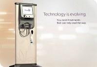 美容医療機器の「サーマクール」=サーマクールを紹介するメーカーのウェブサイトより