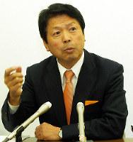 平岡秀夫氏(民主党)=山口2区、比例復活ならず落選(2014年)