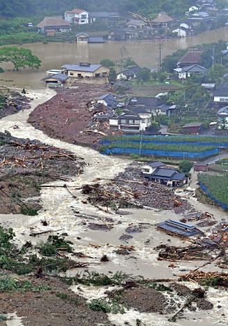 九州北部豪雨:日田市アンケ「農...