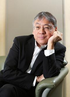 カズオ・イシグロさん=東京都千代田区で2015年6月9日、小出洋平撮影