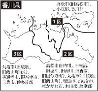 香川県の選挙区