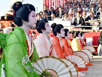 A rendition of the Umamachi