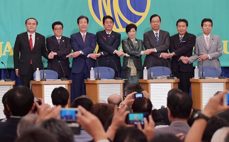 衆院選:首相「与党過半数で続投...