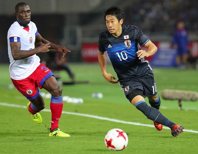 キリン杯 日本vsハイチ