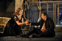 「ヴァルキューレ」でジークムントとジークリンデを好演したクリストファー・ヴェントリスとカミラ・ニールント(C)Bayreuther Festspiele/Enrico Nawrath