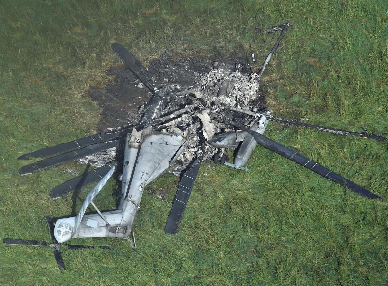 Resumption Of Ch 53e Chopper Flights 1 Week After Crash
