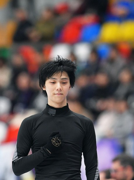 In Photos: Figure skating star Hanyu gears up for Rostelecom Cup in Moscow