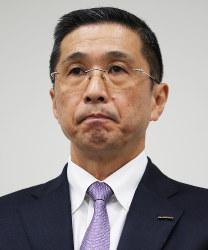 Nissan Motor Co. CEO Hiroto Saikawa (Mainichi)