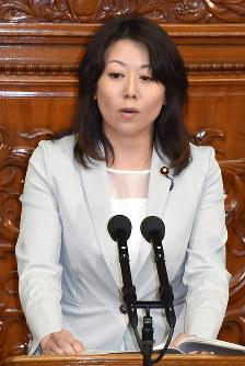 太田和美氏(希望の党)千葉8区=比例復活ならず落選