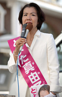 豊田真由子氏(無所属)埼玉4区=比例の重複立候補なく落選