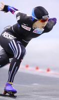 女子1000メートルで優勝した高木美帆=佐々木順一撮影