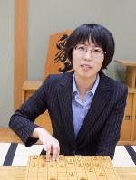 里見香奈三段=大阪市福島区の関西将棋会館で、新土居仁昌撮影