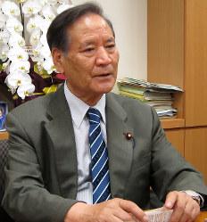 西川公也氏(自民党)栃木2区=比例の重複立候補なく落選
