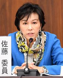 佐藤ゆかり氏(自民党)大阪11区=比例で復活当選