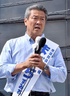 馬淵澄夫氏(希望の党)奈良1区=比例復活ならず落選