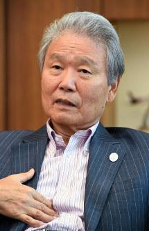 Chairman of the Japan Business Federation, or Keidanren, Sadayuki Sakakibara (Mainichi)