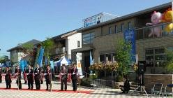 毎日ハウジング枚方住宅展示場で2012年4月28日、矢島弓枝撮影