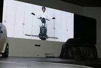 =東京都江東区の東京ビッグサイトで2017年10月25日、牟田口淳氏撮影