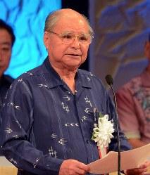 上原康助さん 84歳=元北海道・沖縄開発庁、国土庁長官(8月6日死去)