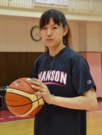 ひと・しずおか:女子バスケットボール シャンソン化粧品主将 ...