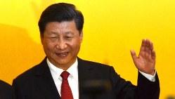 中国の習近平国家主席=2015年11月7日、工藤哲撮影