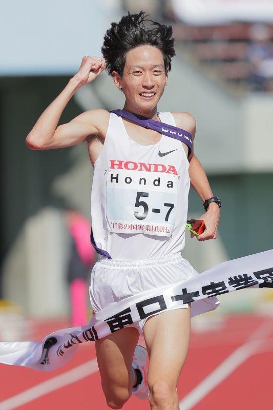 東日本実業団駅伝:HondaがV 2年ぶり6回目[写真特集1/4]- 毎日新聞
