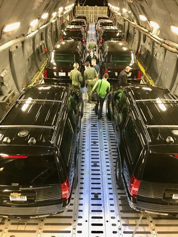Secret Service Releases Photos On Twitter Of Us Presidential Cars