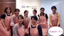 伊藤忠アーバンコミュニティの女性エンジニア(1級建築士等)「エンジ小町」の皆さん
