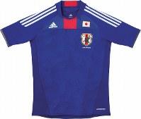 2010~11年のサッカー日本代表ユニホーム=アディダスジャパン提供