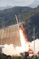 打ち上げに失敗した「SS520」4号機=JAXA提供